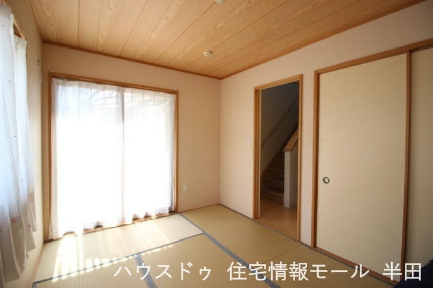 和室 6畳和室 独立しているので客間としても重宝します