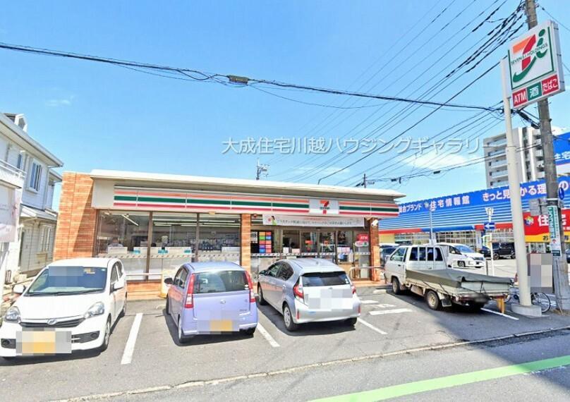 コンビニ セブンイレブン川越脇田本町店(徒歩7分。ちょっとしたお買い物に便利なコンビニです^^)