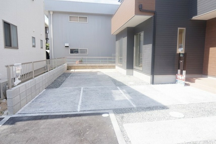 駐車場 2021年9月撮影