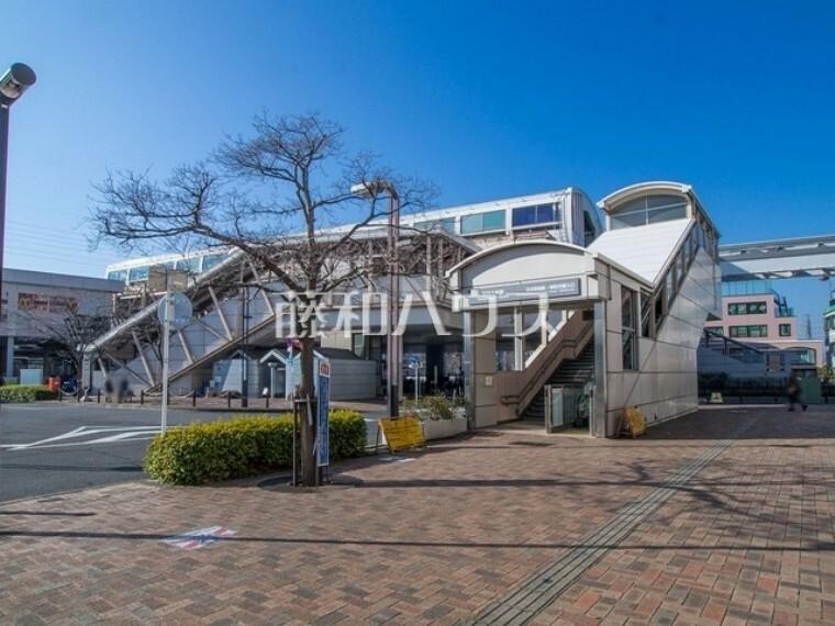 多摩都市モノレール・西武拝島線「玉川上水」駅