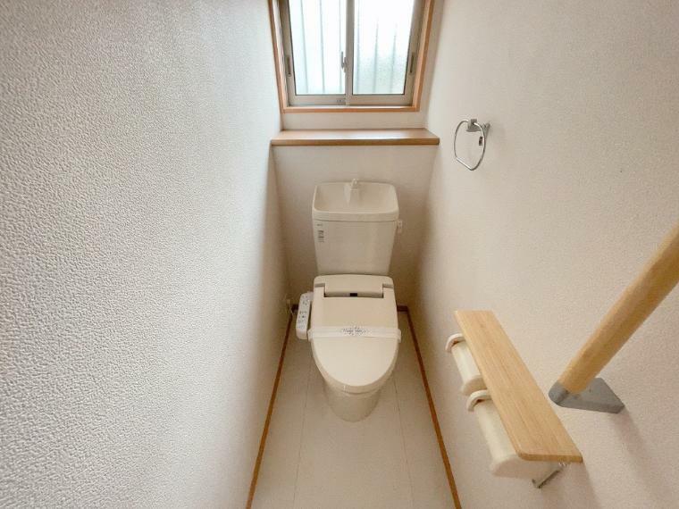 トイレ 温水洗浄便座です。