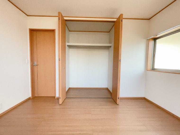 収納 洋室クローゼットです。