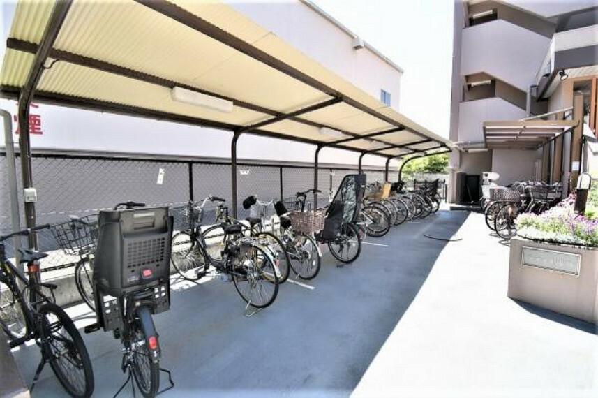 駐輪場 2021.4.23 撮影