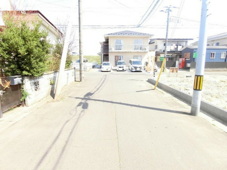 現況写真 東北本線「南仙台」駅よりバス利用可能です。