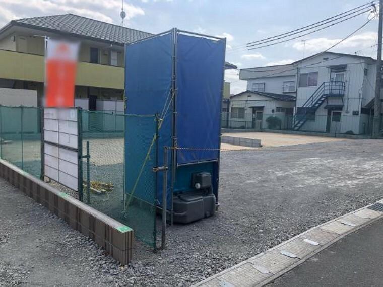 現況写真 駐車スペース2台駐車可能