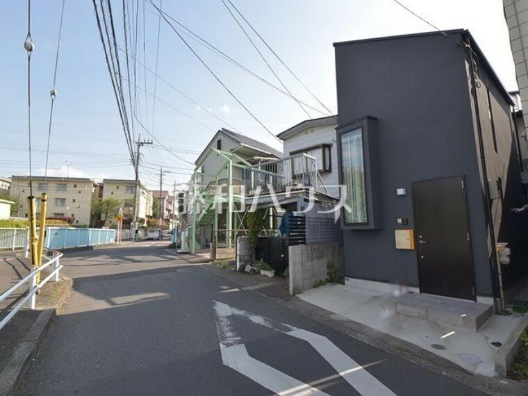 現況写真 接道状況および現場風景 【西東京市南町5丁目】