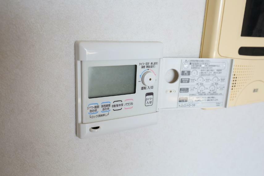 冷暖房・空調設備 床暖房のコントローラーです
