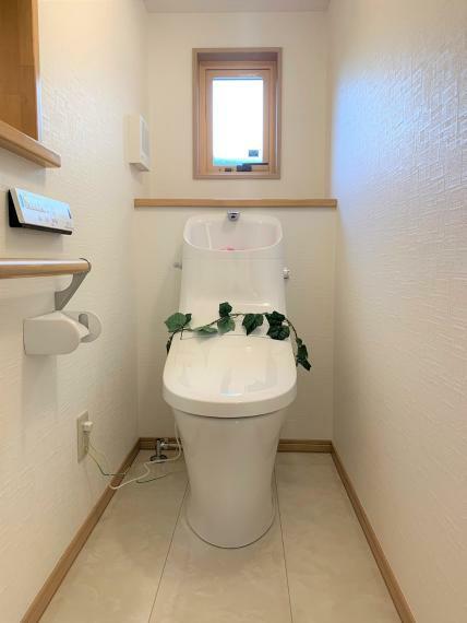 トイレ 静かで寒い冬でも凍害を起こさないトイレ。