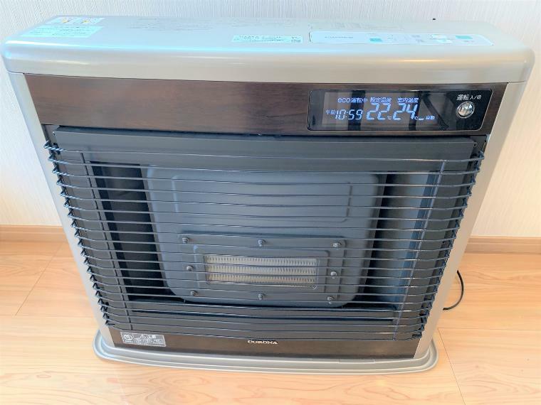 冷暖房・空調設備 FFストーブ付きで、暖かく冬を越すことができます。