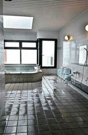 浴室 最上階展望温泉付で1日の疲れを癒せます!