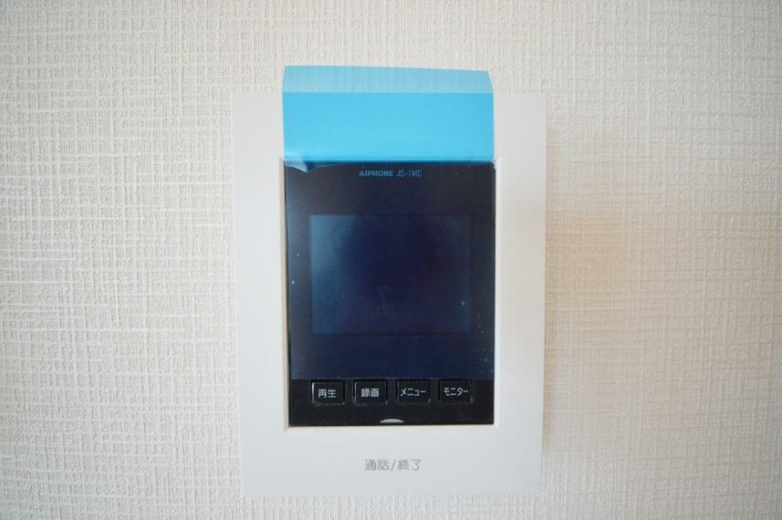 TVモニター付きインターフォン TVモニター付きインタフォン