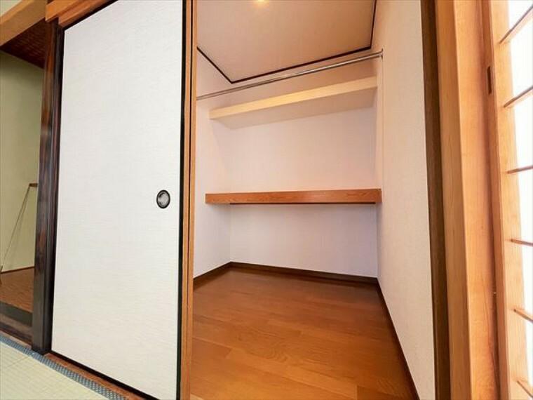 収納 大容量の収納スペースで、住空間もスッキリ広々。