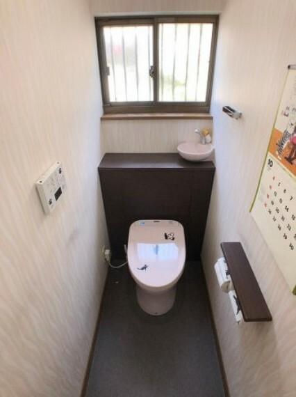 トイレ ウォシュレット使用になってます。