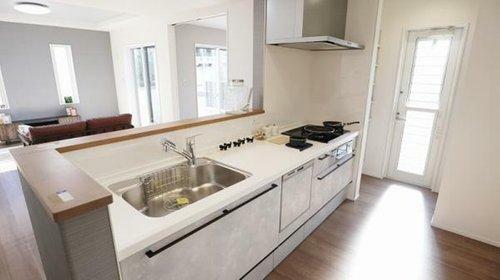 同仕様写真(内観) ■料理をしながらリビングが見える対面キッチン!施工例