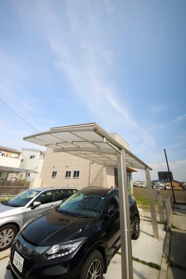 安心R住宅 駐車スペースになります。2台駐車可能です!