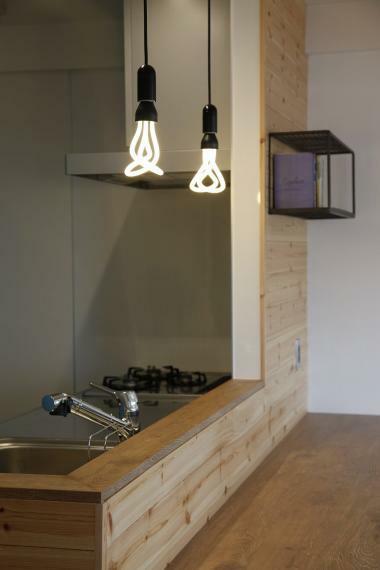 安心R住宅 リノベプラン例:全室照明プランニング プロのコーディネーターが全室照明プランニングいたします!雑貨屋さんのような照明器具を用いて、お部屋の雰囲気をガラッと変えてみませんか?写真のような照明器具とプランニング合わせて20万円からご案内可能です。