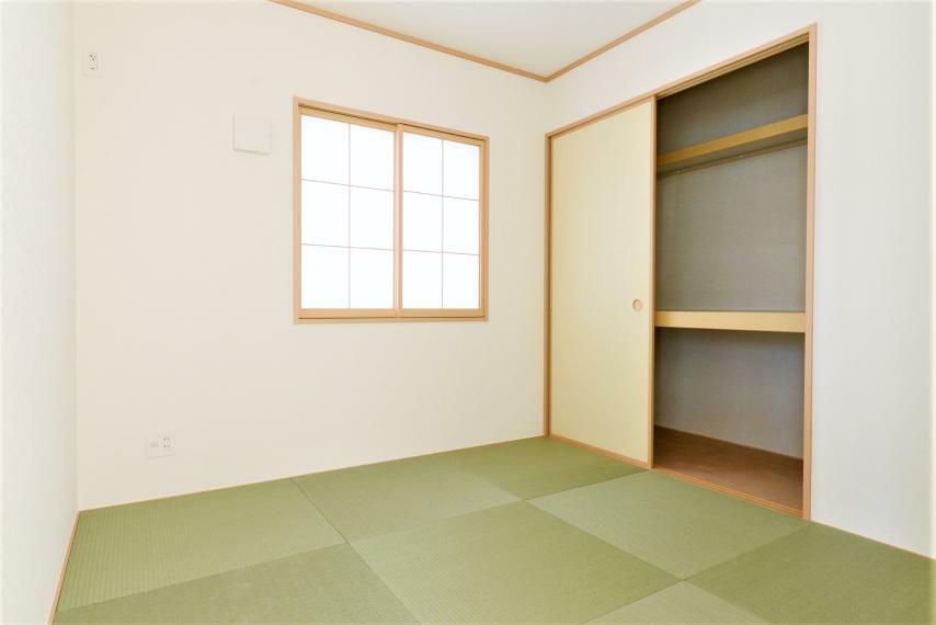 和室 (同仕様例)日本人の心を落ち着かせてくれる和室。