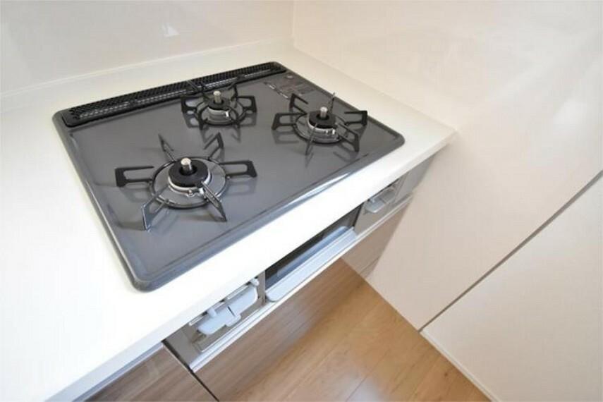 キッチン 【施工例】ガスコンロ