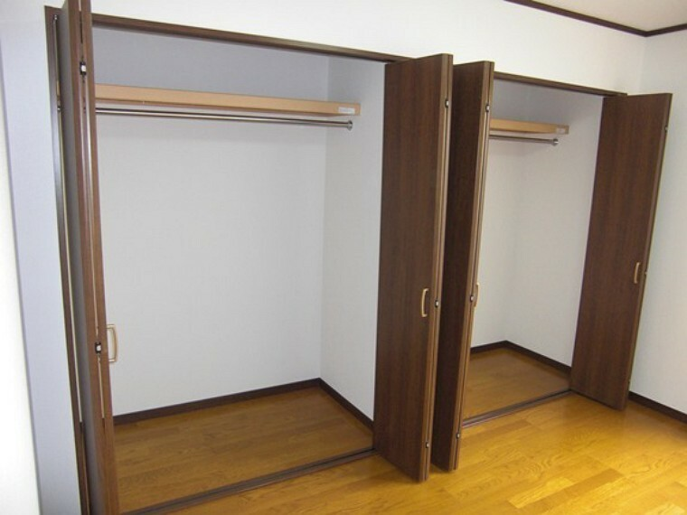 収納 全居室収納付き   お部屋がスッキリとお使いいただけます