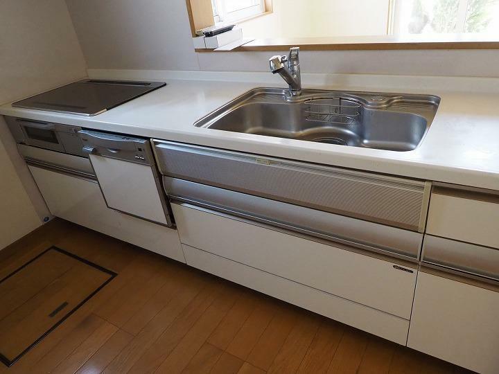 キッチン IH 食器洗い乾燥機 床下収納