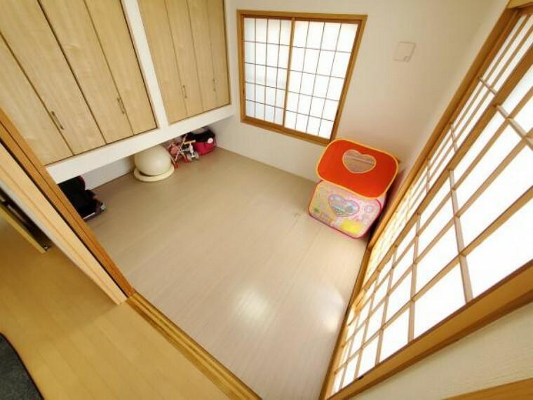 ほっこり和室はお子様のお部屋にもいいですね。
