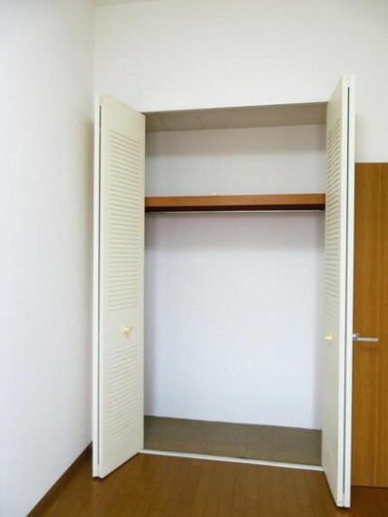 収納 各お部屋に収納付き、整理整頓しやすいですね。