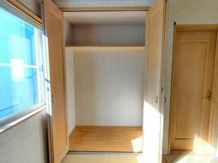 収納 【現況販売】1F和室の収納です。