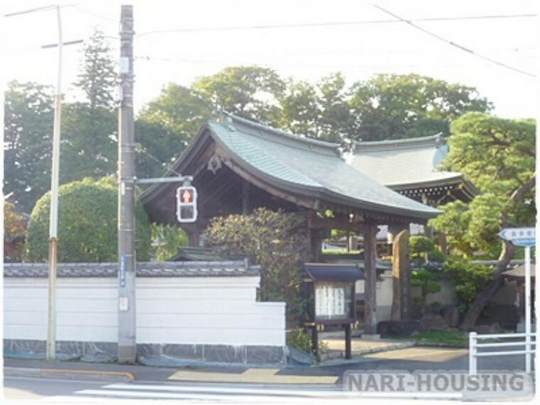 【寺院・神社】阿弥陀寺まで518m