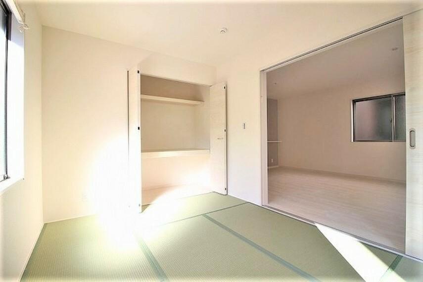 和室 ・建設中の為同仕様写真を使用しております。