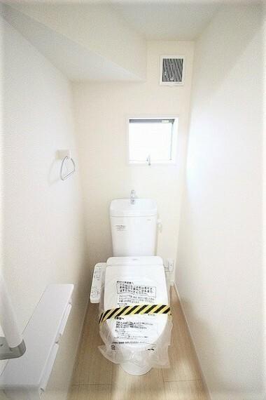 トイレ ・建設中の為同仕様写真を使用しております。