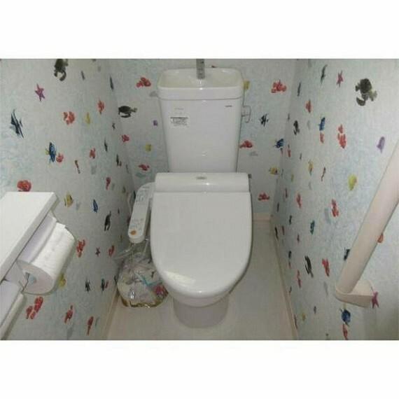 トイレ 明るいデザインのお手洗い!