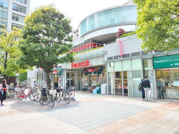 スーパー ピーコックストアやドラッグストアーでのショッピングや飲食も出来るトルーナレ日本橋浜町