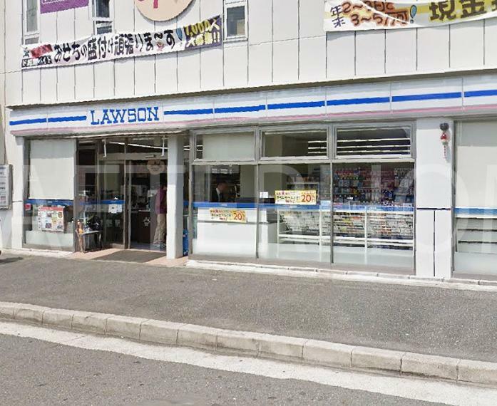 コンビニ ローソン八条油小路西店