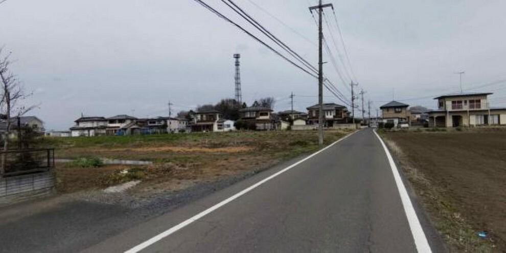 現況写真 前面道路は5.0mあります