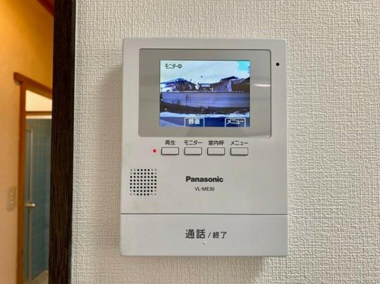TVモニター付きインターフォン 初めてのマイホーム購入にいかがでしょうか