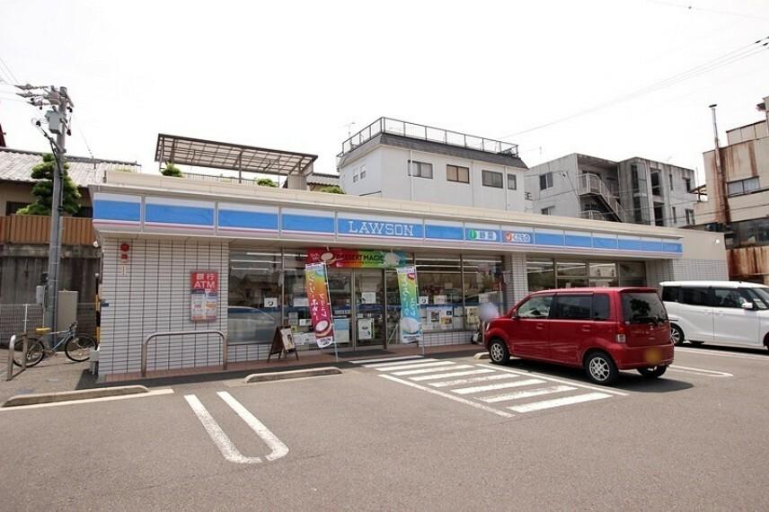コンビニ ローソン 清水草薙杉道店