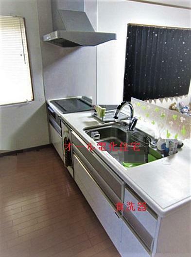 キッチン 食洗器付き、システムキッチン、便利!