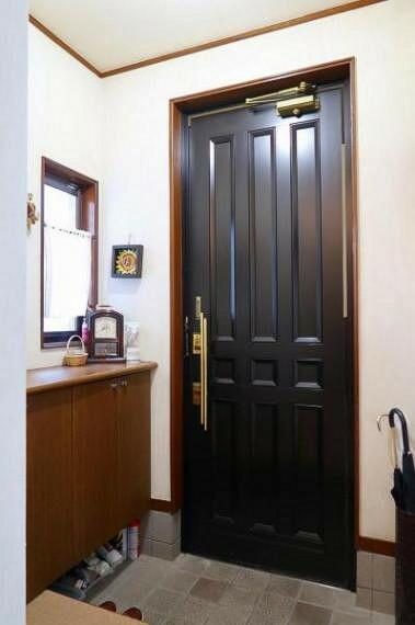 玄関 ゆったり玄関スペース