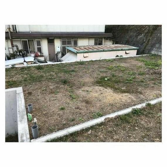 現況写真 ガスや水道の引き込みを含む宅地造成工事済みです