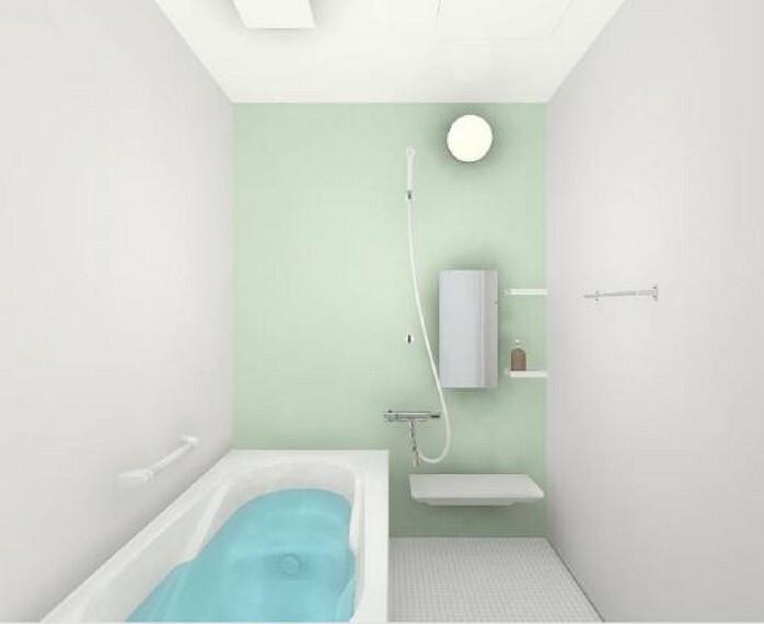 [ユニットバス同仕様写真]浴室はリクシル製の新品のユニットバスに交換します。足を伸ばせる1坪サイズの広々とした浴槽で、1日の疲れをゆっくり癒すことができますよ。