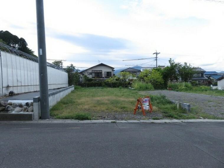 現況写真 静岡市清水区船越1丁目の売地です。