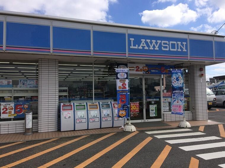 コンビニ ローソン守山山賀店