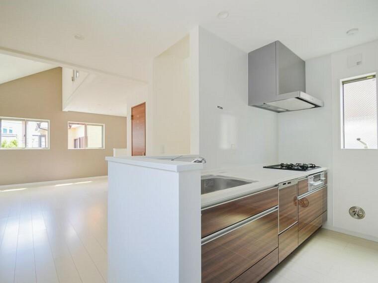 キッチン 何気なく過ぎる時でさえも上質なひと時となる快適な空間を目指して。