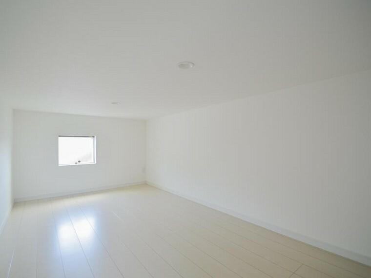 あると便利なロフト付き。趣味部屋など、お客様好みの空間に作り上げてください。
