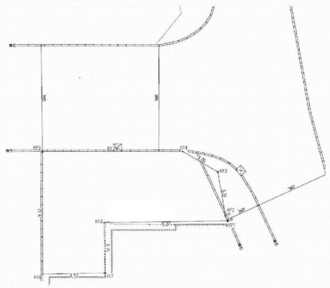 土地図面 JR横浜線「大口」駅徒歩5分の好立地。角地につき開放感有。大口通商店街に面しているので買い物も便利です。建築条件なし売地なのでお好きなハウスメーカーで建築可能です。前面道路8m以上。