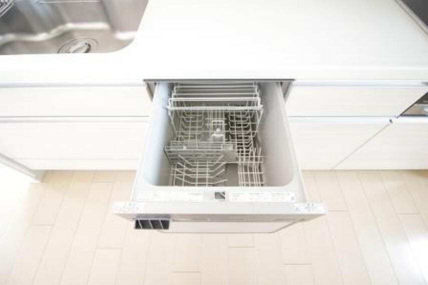 キッチン 食洗器付き!洗浄・感想はもちろん収納としてお使いいただく方も増えています。