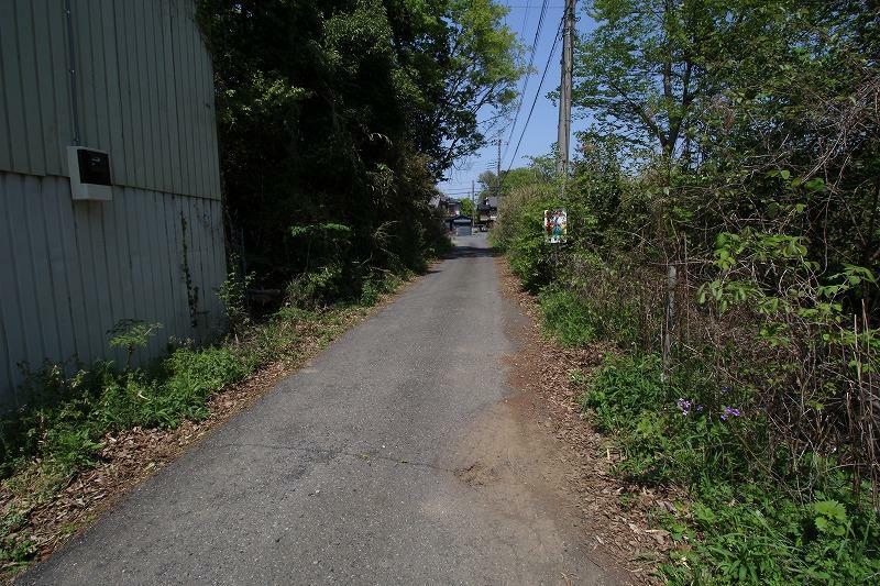 現況写真 2021年4月撮影 東側前面道路