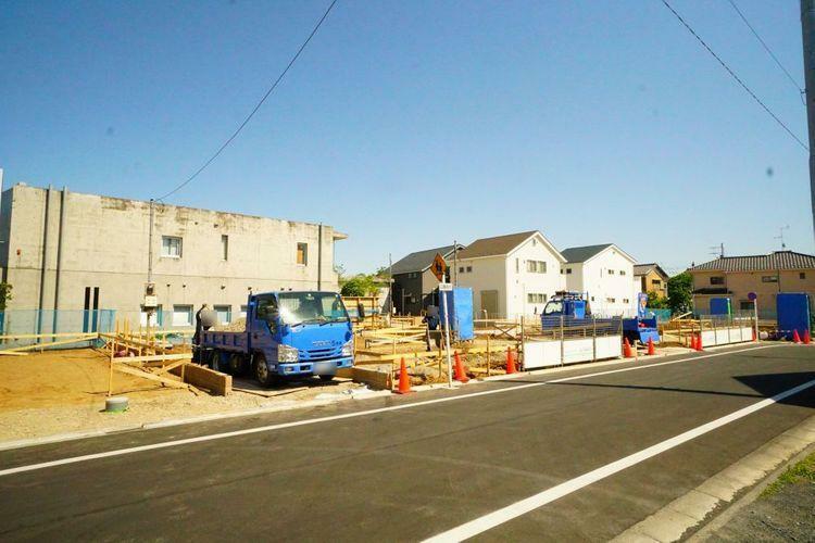 現況写真 世田谷区宇奈根3丁目の新築戸建。限定14棟。