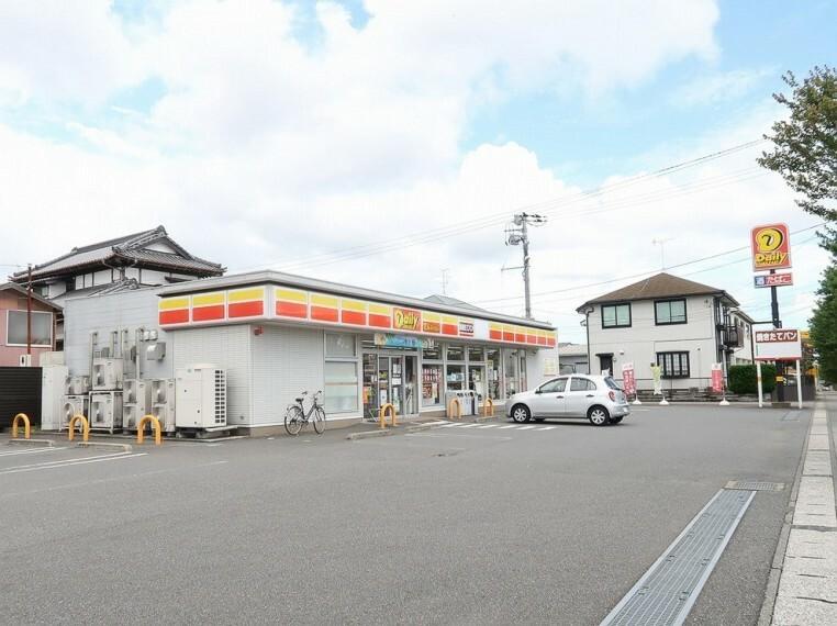 コンビニ (ヤマザキデイリーストア)徒歩4分