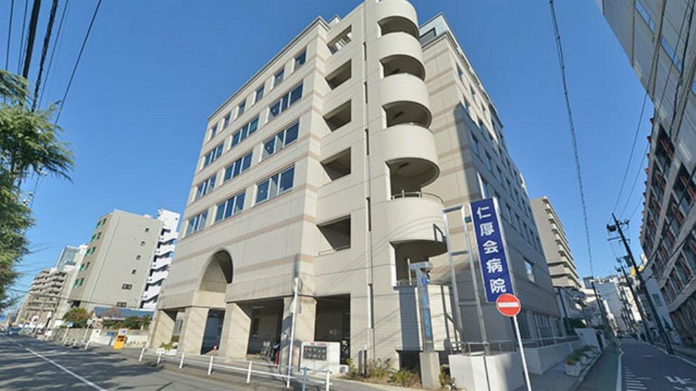 病院 【総合病院】仁厚会病院まで580m